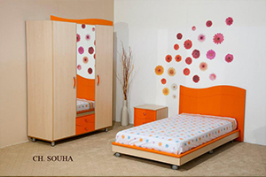 Pin meublatex on pinterest for Chambre a coucher tunisie meublatex