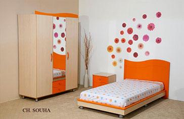 chambre a coucher fille tunisie - DE PEINTURE
