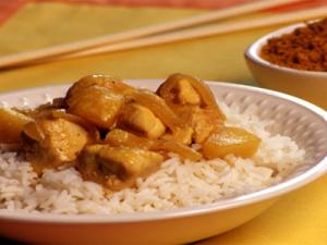 recette curry poulet