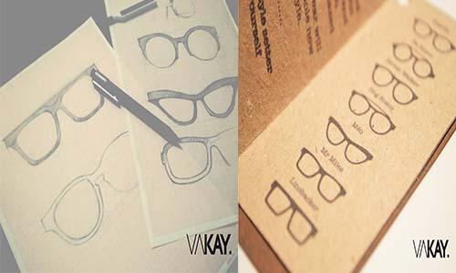 design lunette bois
