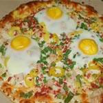 Recette facile de pizza aux œufs fait maison
