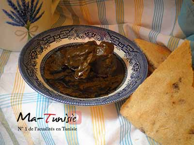 recette tunisienne mloukhiya