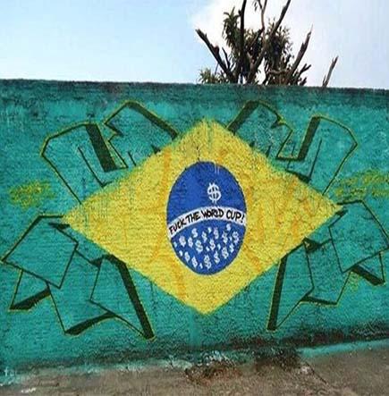 brésill 2014 magnifestation