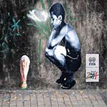 graffiti brésil 2014