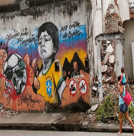 graffiti brésil