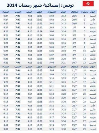 ramadan 2014 rupture du jeune