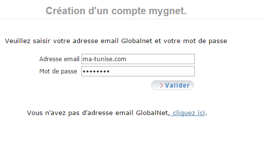 compte globalnet