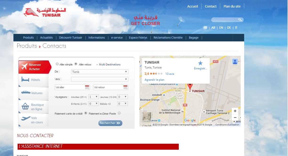tunisair: compagnie aérienne tunisienne
